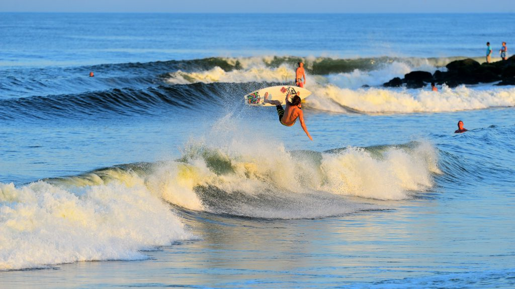 Alex Brooks Aftermath Surfboards Frontside Air