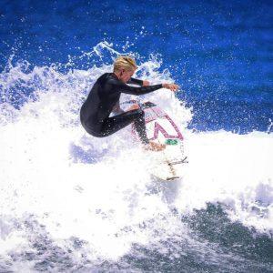 Keala Kennelly Aftermath Surfboards Frontside Fins Free