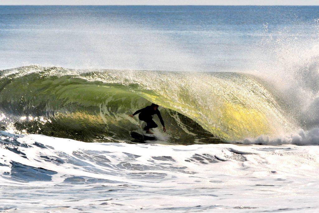 Alex Brooks Aftermath Surfboards Barrel