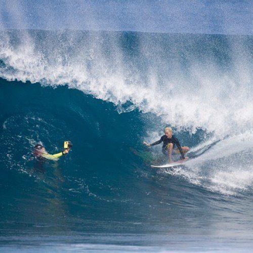 Keala Kennelly Aftermath Surfboards Backside Barrel