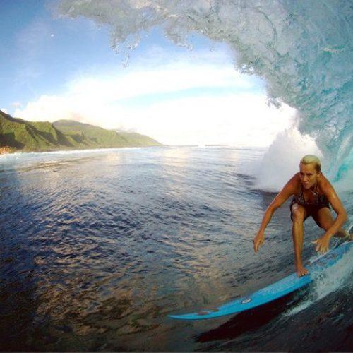 Keala Kennelly Aftermath Surfboards Barrel
